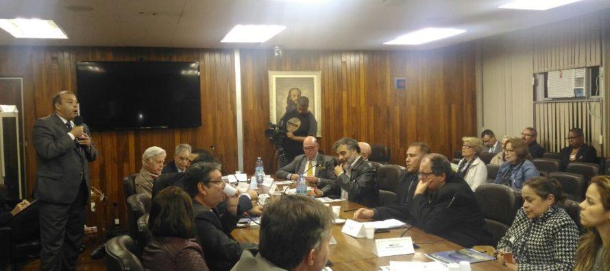 Lançamento do movimento MudaTC na Câmara Municipal de SP, realizado dia 23 de maio pela Conacate e Fenastc.