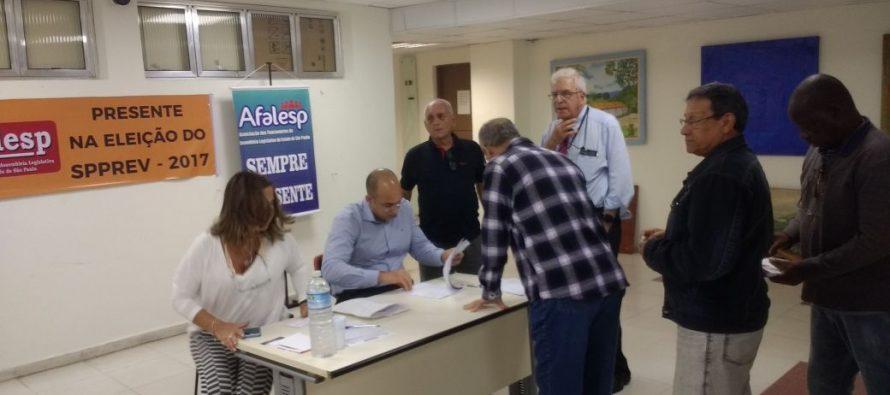 Resultado da eleição para representantes da Alesp na Spprev: Conselho Administrativo