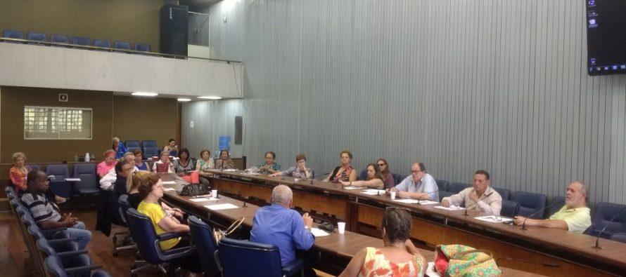 Reunião mensal dos Aposentados da Alesp, Assembleia Geral de prestação de contas da Aspal e homenagem ao Dia Internacional da Mulher. Hoje, 6/3, na Aspal.