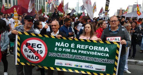 Protesto contra a reforma da Previdência (1)