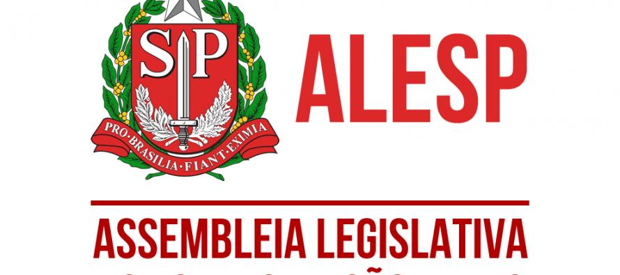 A nossa sessão solene já está na Agenda da ALESP