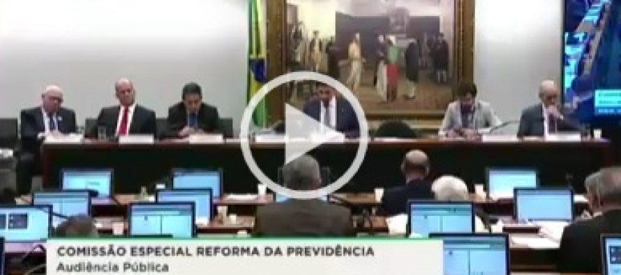 Representando o Sindilegis em audiência da Comissão Especial da PEC 06/2019 nesta quarta (29)