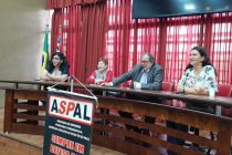 Reunião dos aposentados da Alesp, realizada hoje no Plenário José Bonifácio