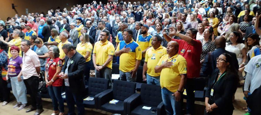 Congresso Nacional, o Auditório Nereu Ramos está  lotado