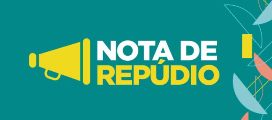 NOTA DE REPÚDIO, referente as declarações do Ministro da Economia.